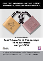 Aladdin & CheckPoint cooperate