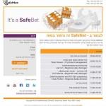 SafeBet mailer